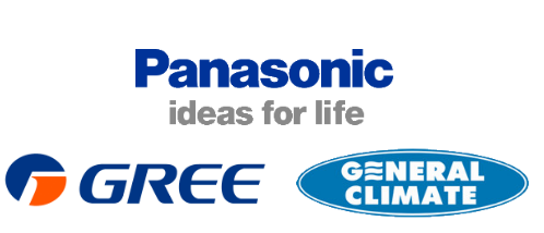 пульт кондиционера Panasonic, Gree, General Climate